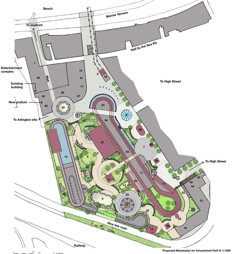 dreamland heritage amusement park our masterplan